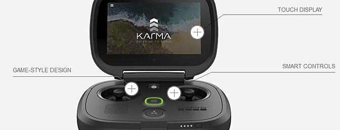 Пульт квадрокоптера GoPro Karma