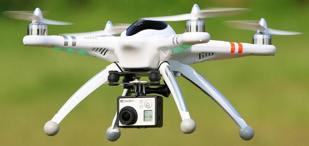 квадрокоптер с камерой gopro