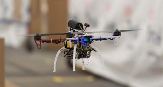 съемочный дрон