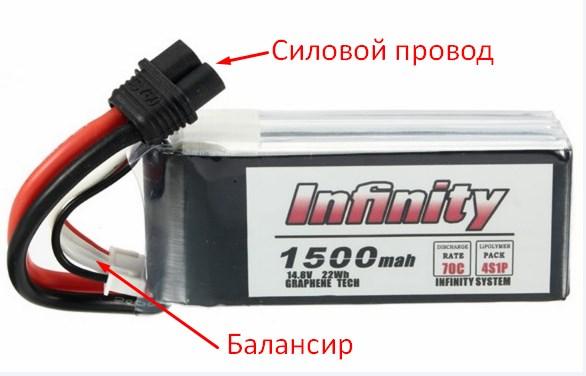 Как выбрать LiPo аккумулятор для квадрокоптера, безопасность, зарядка и хранение