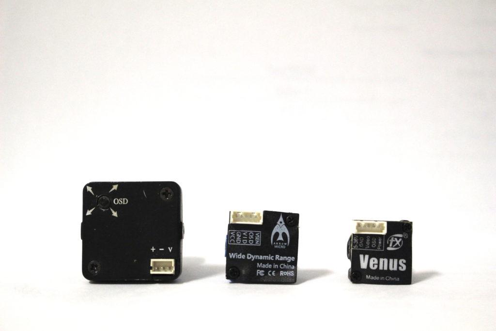 Простое сравнение между полноразмерной камерой, микрокамерой и камерой T81 Venus. Это просто суперкомпактность