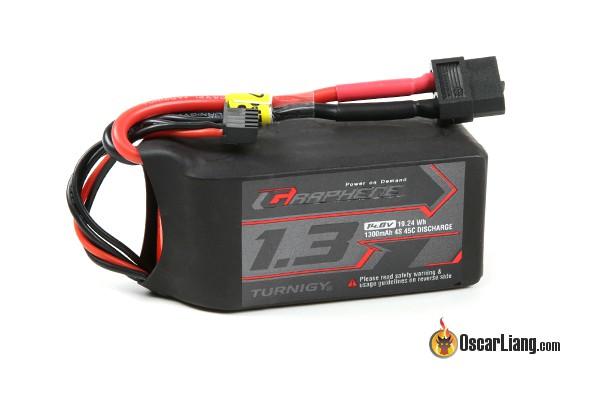 Turnigy Graphene 4S 65C LiPo Batteries