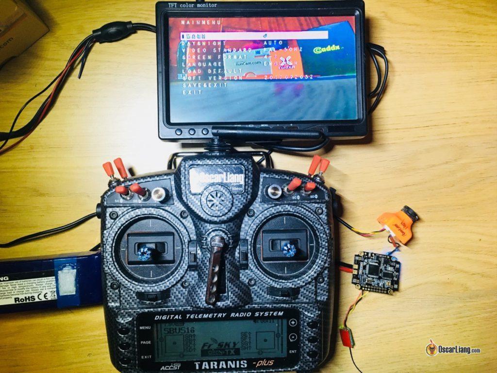 Управление FPV камерой по OSD через UART порт полетного контроллера