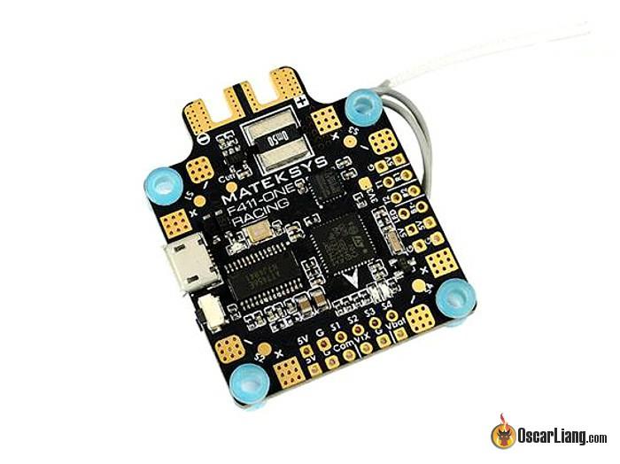 Полетный контроллер F411-ONE с SPI_RX