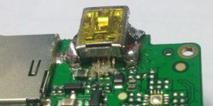 сломанный USB