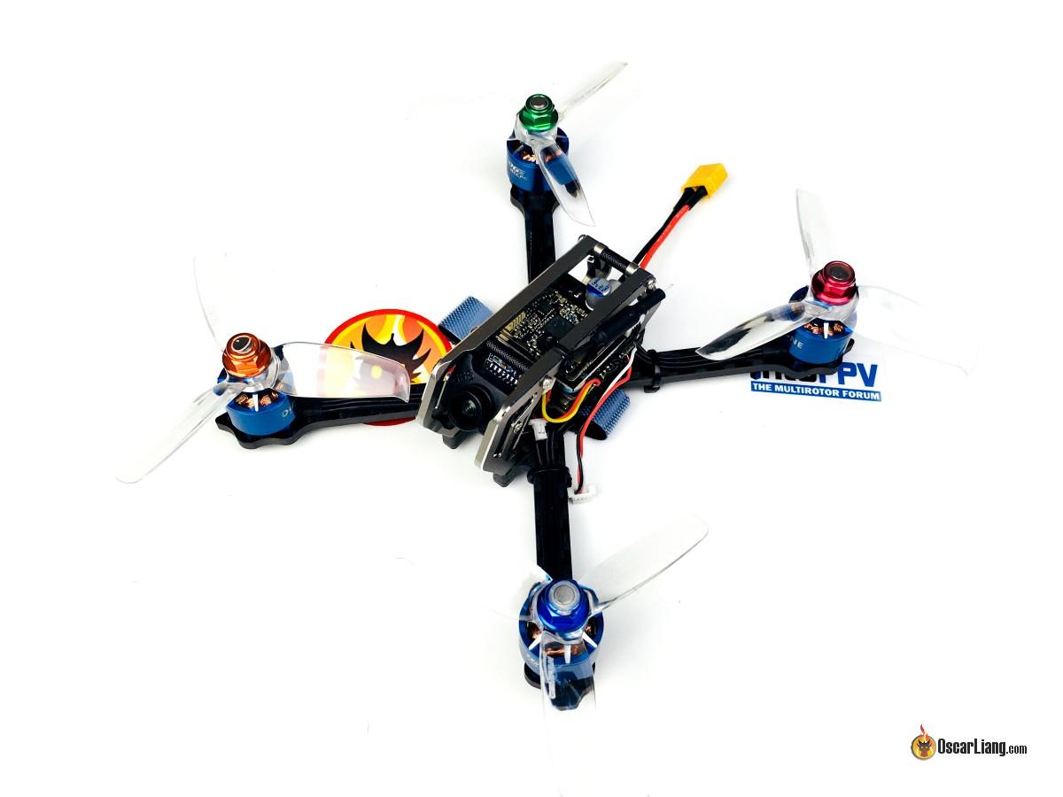 Обзор квадрокоптера Diatone GT-M3 2018