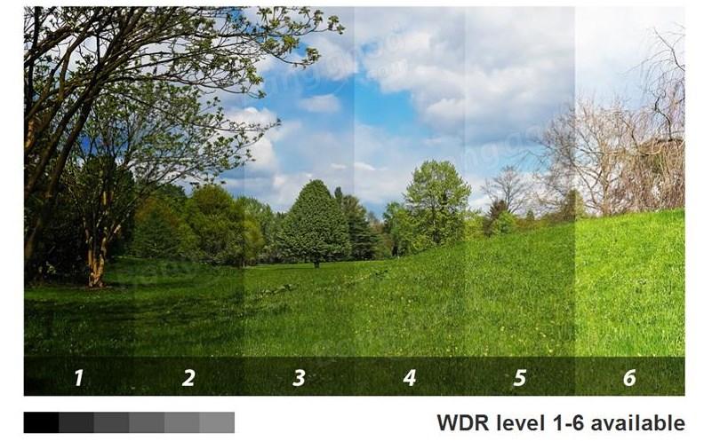 6-уровневая WDR