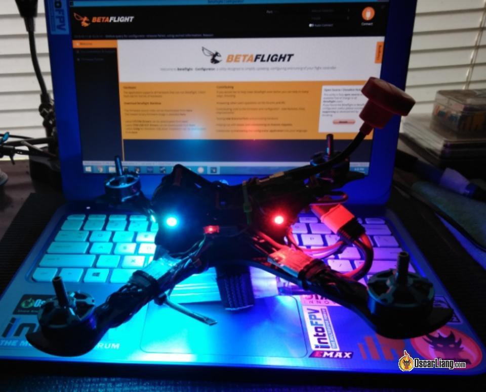 Как сделать RGB LED подсветку на квадрокоптере и настроить в Betaflight