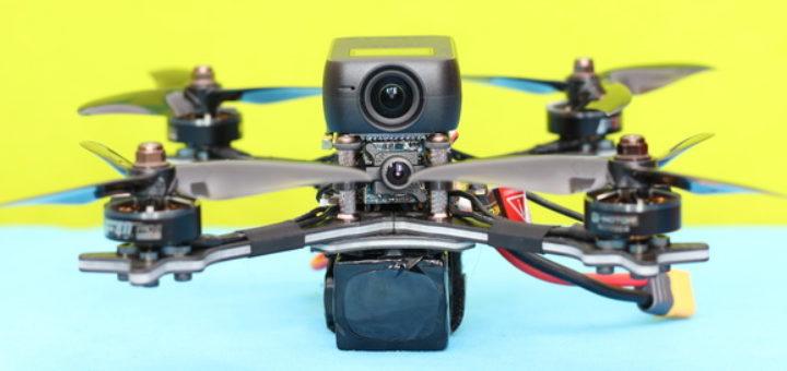 Holybro Kopis 2 SE с экшен-камерой