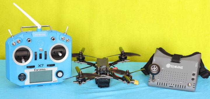 Holybro Kopis 2 SE дрон, пульт и шлем