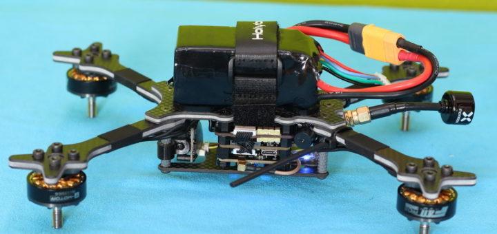 c аккумулятором 4S 1300mAh