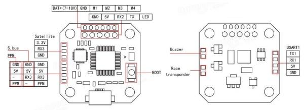 KingKong-ET125 схема соединения