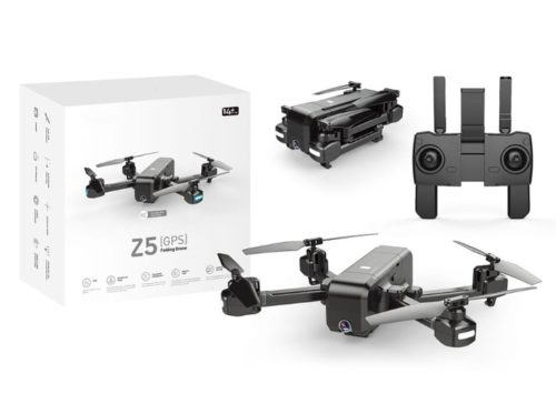 SJRC Z5 складной квадрокоптер с GPS за 100$: характеристики и фото