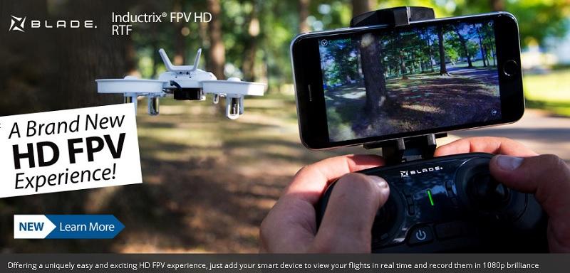 Blade Inductrix FPV HD: технические характеристики и описание