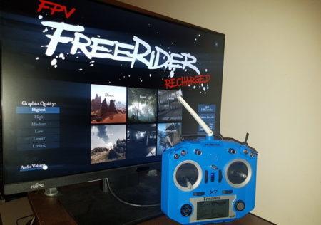 ОбзорFPV симулятора Freerider Classic/Recharged - Taranis