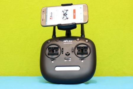 MJX B2SE пульт с телефоном
