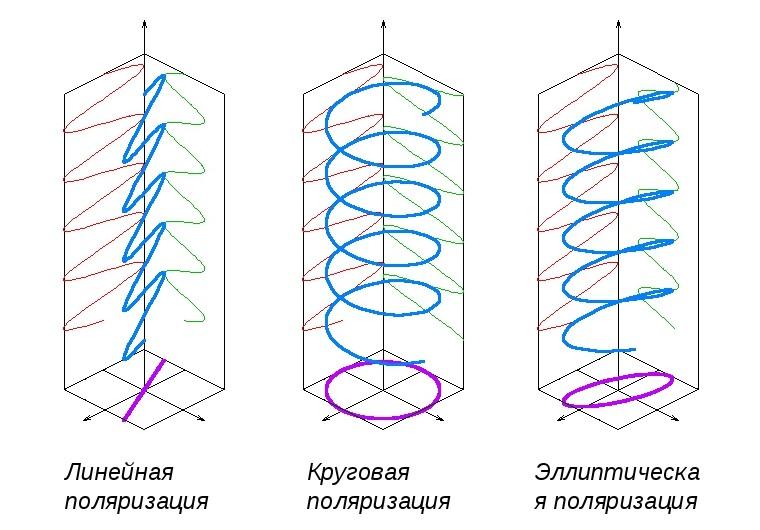 типы поляризации