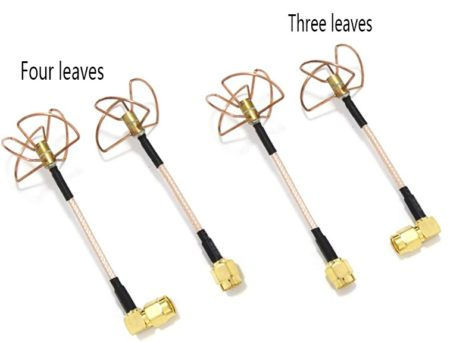 Антенна клевер: 3 лепестка и 4 лепестка