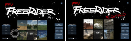 Отличие FPV Freerider Classic от FPV Freerider Recharged