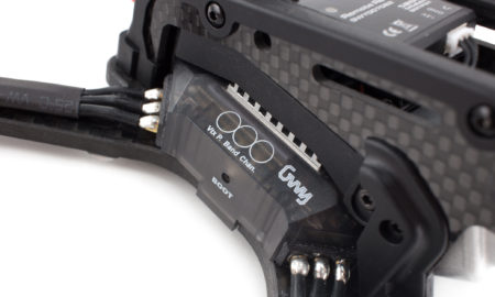 DTS GT200 - FPV дрон для фристайла, анонс, блок управления