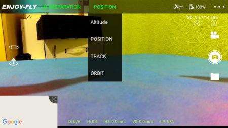 JJRC X7 Smart режимы полета