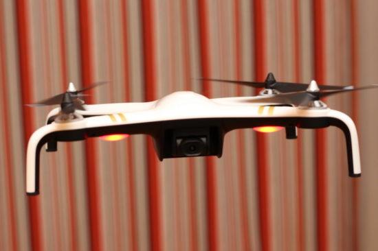 JJRC X7 Smart в воздухе