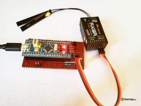 Конвертер SBUS в USB для FPV симулятора своими руками