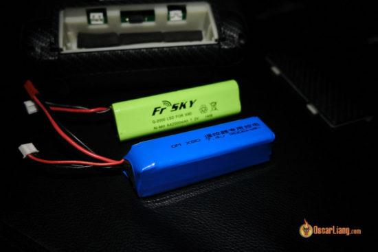 TARANIS X9D-PLUS - замена аккумулятора на более емкий