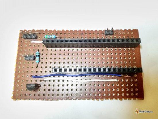 Конвертер SBUS в USB для FPV симулятора своими руками - плата разработки