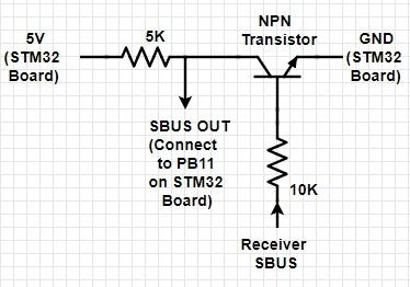 Конвертер SBUS в USB для FPV симулятора своими руками - схема инвертора
