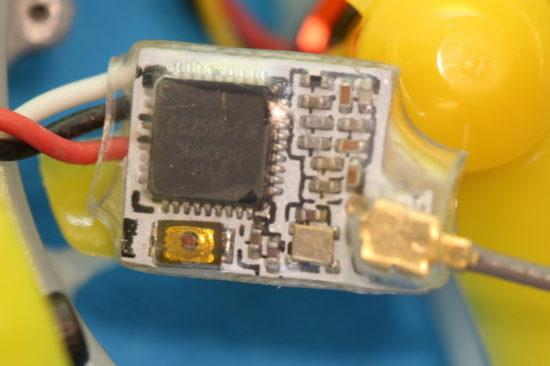 FullSpeed TinyLeader приемник - кнопка связки