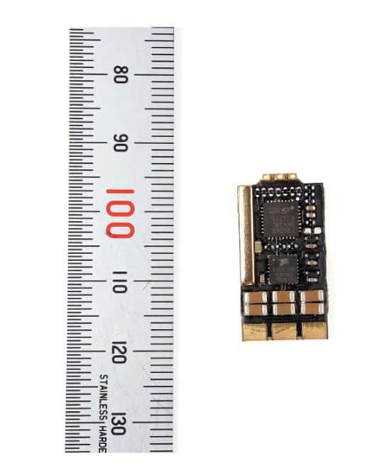 TEKKO32 F3 SLIM регуляторы оборотов (ESC) с линейкой, размеры