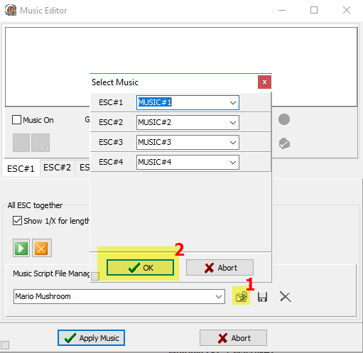 Звуки и музыка регуляторами оборотов (ESC) и моторами   BLHELI_32 blhelisuite32 configurator music editor загрузка файла мелодии