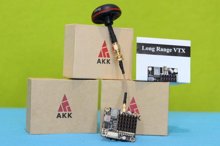 AKK FX2 Dominator с коробкой и антенной