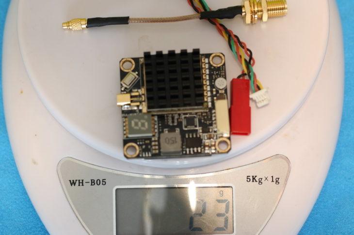 AKK FX2 Dominator вес с пигтейлом и проводами