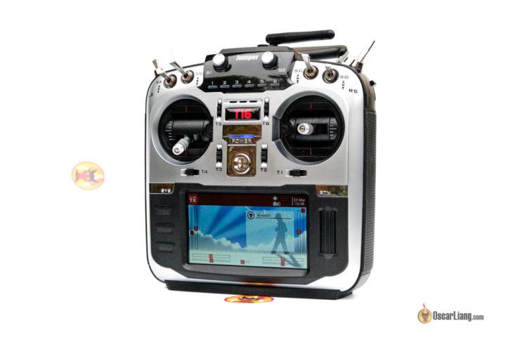 JUMPER T16 аппаратура управления с включенным экраном