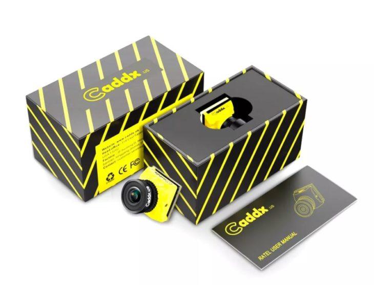 Caddx Ratel Starlight (звездный путь), FPV камера для ночных полетов с коробками