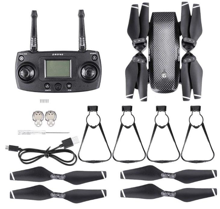 KK10S с GPS, квадрокоптер за 94$ - полный комплект