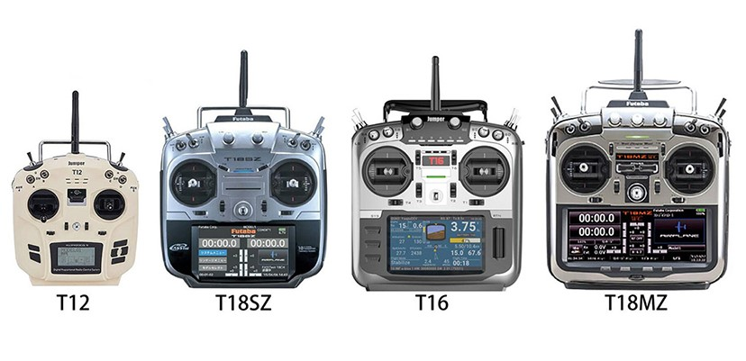 JUMPER T16 аппаратура управления, обзор пульта с фото и