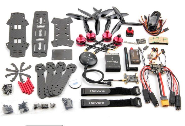 Holybro Pixhawk 4 Mini QAV250 - КИТ-набор с GPS - детали
