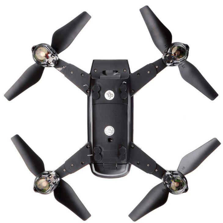 KK10S с GPS, квадрокоптер за 94$ - вид снизу