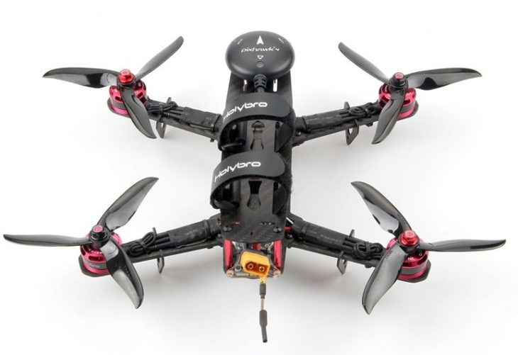 Holybro Pixhawk 4 Mini QAV250 - КИТ-набор с GPS вид сзади