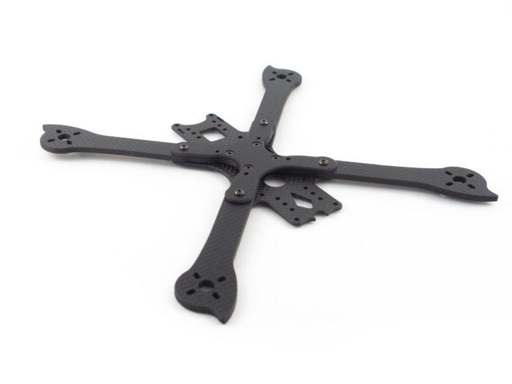 Гоночный квадрокоптер своими руками, на раме iFlight XL5 V3 начало сборки рамы