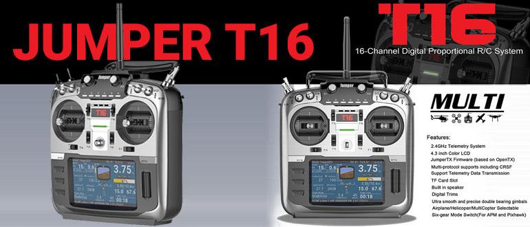 JUMPER T16 аппаратура управления, обзор пульта с фото и видео - Все