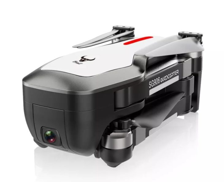 ZLRC Beast SG906, квадрокоптер с камерой 4К и GPS, в сложенном виде