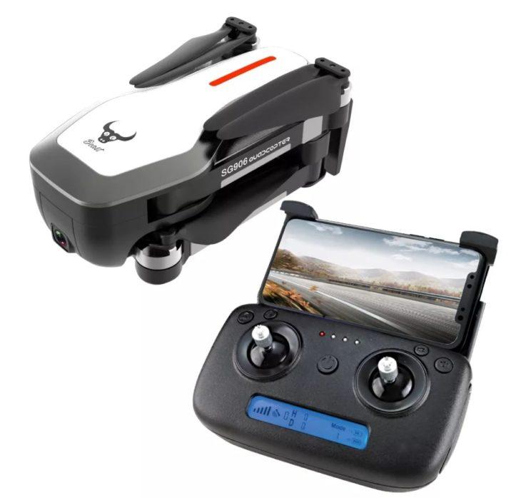 ZLRC Beast SG906, квадрокоптер с камерой 4К и GPS, с пультом управления