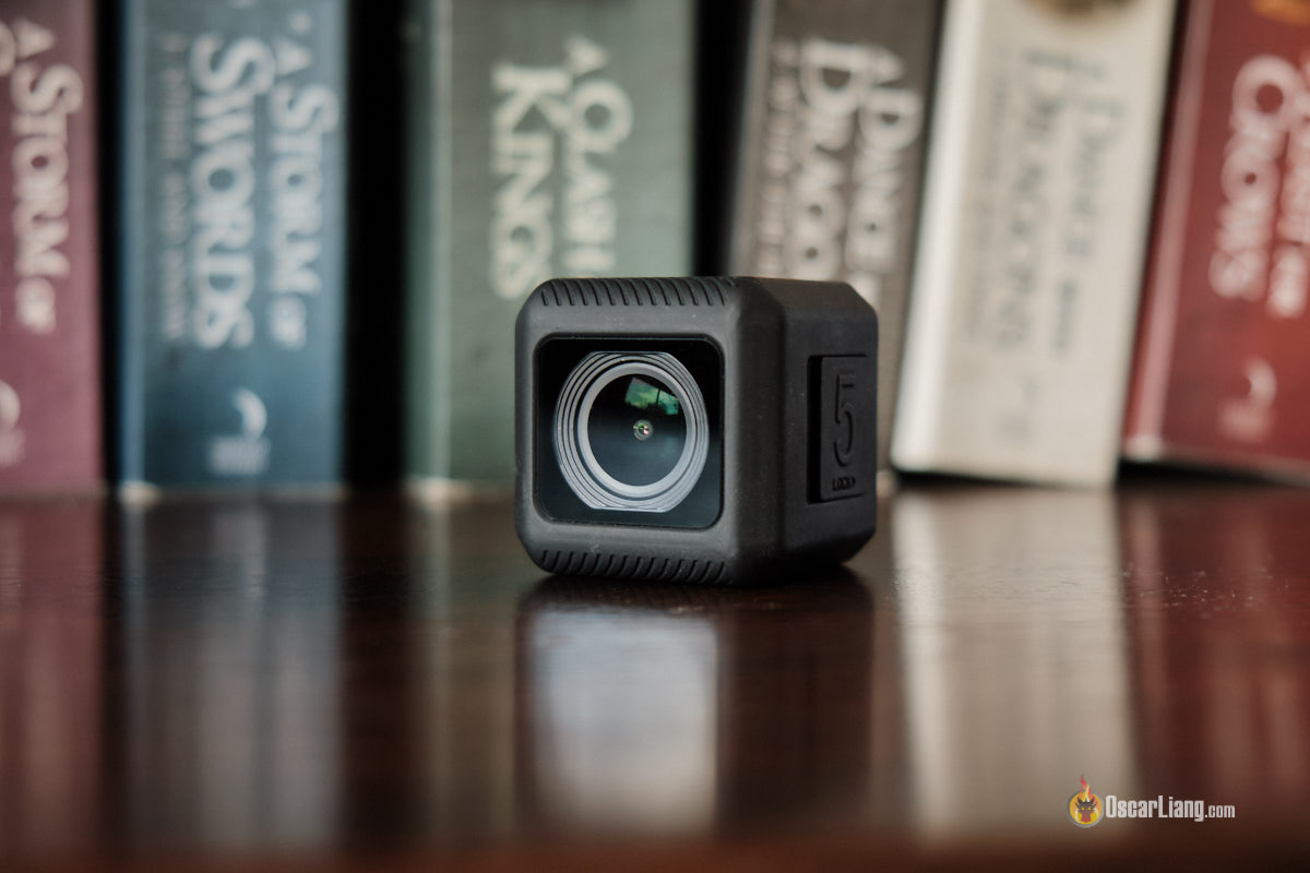 Обзор Runcam 5 - экшн-камера, вид спереди