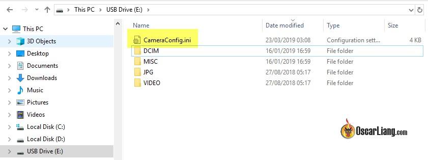 Обзор Runcam 5 - экшн-камера, файл с настройками на флешке