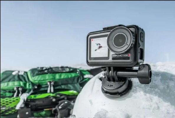 DJI Osmo Action: экшен-камера и конкурент GoPro