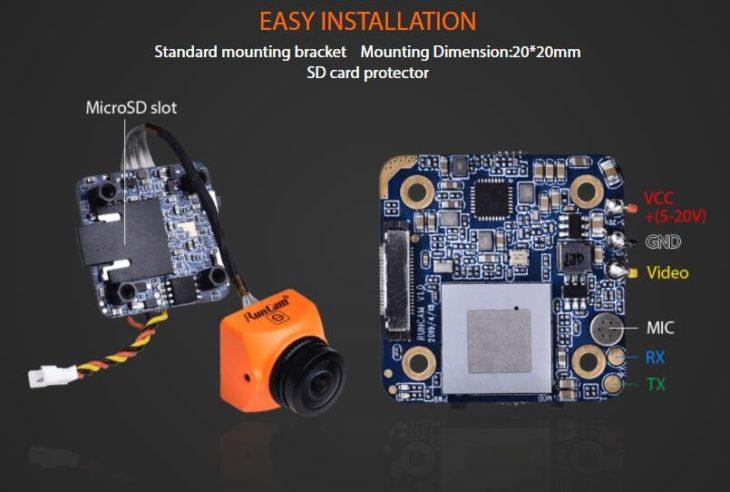 RunCam Split 3 Micro и Nano FPV с DVR